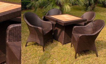 Set of 5 Garden Furniture