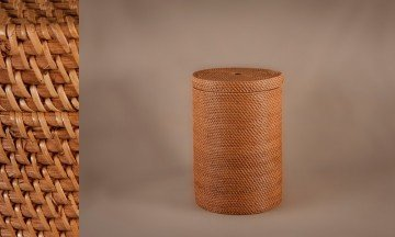 Cesto ropero full rattan color miel