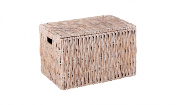 Wicker trunk white color