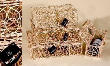 Rattan Bottle Holder